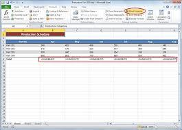 how to print formulas in an excel 2010 worksheet dummies