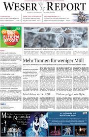 Restaurant Esszimmer Bremen Vegesack Weser Report Nord Vom 07 12 2016 By Kps Verlagsgesellschaft Mbh