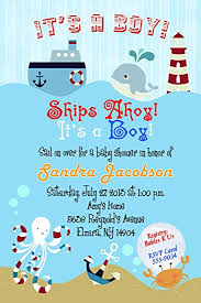 nautical baby shower invitations nautical baby shower invitations toys