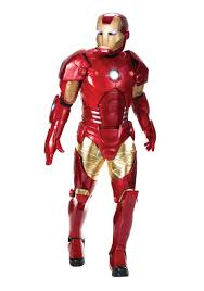 Iron Patriot Halloween Costume Authentic Men U0027s Iron Man Costume