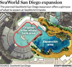Sea World San Diego Map by Sea World Stock Price Plummets San Diego To Double Size Of Tanks
