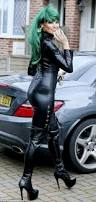 towie u0027s jessica wright gives halloween twist in leather