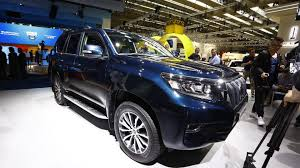 2018 toyota land cruiser gets new look higher quality interior
