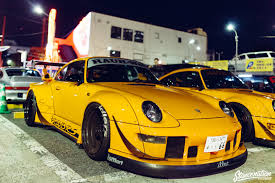 porsche rauh welt rwb porsche meet at roppongi japan stancenation form