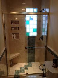 glass block bathroom ideas glass bathroom cabinets using glass block showers glass block