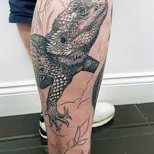 100 lizard tattoos for men cool reptile designs