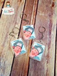 baptism keychain set of 10 personalized photo key chain party favors baptism