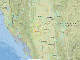 Usgs Real Time Earthquake Map Burma Earthquake 6 8 Magnitude Quake Strikes In Centre Of Country