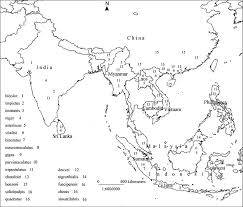 asia map coloring page printable asia map