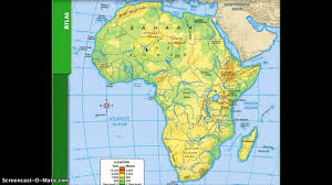 Map Of Africa Political by Physical And Political Geography Of Africa Youtube