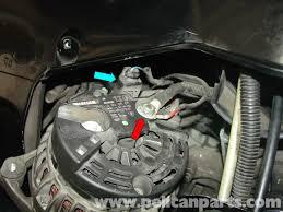 porsche boxster alternator replacement 986 987 1997 08