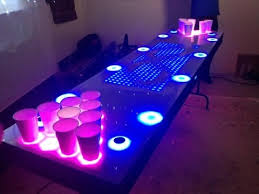Hockey Beer Pong Table It U0027s An Interactive Beer Pong Table Youtube