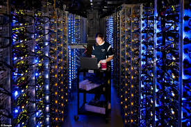 data center servers inside google pictures gives first ever look at the 8 vast data