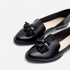 zara thanksgiving hours black loafer with tassels zara fall 2015 rosa loves shoes