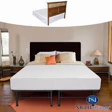Metal Platform Bed Frame King Bed Frames Wallpaper Hi Def Zinus 14 Inch Smartbase Mattress