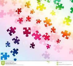 colorful puzzle background stock photo image 30502330