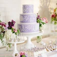 purple and white wedding purple wedding cakes
