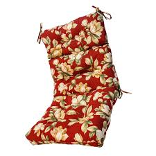 Outdoor Chair Cushions High Back Outdoor Chair Cushions Floral Luxurious High Back