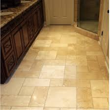Floor Tile Designs For Bathrooms Travertine Tile Floor Pattern Called Hopscotch Affordable Design