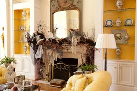 how to decorate home for halloween 18 spooktacular halloween ideas for your fireplace mantel