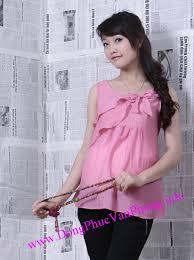 ao bau đồng phục công sở dành cho bà bầu dong phuc cong so danh cho ba bau
