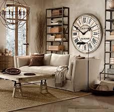 Grande Horloge Murale Carrée En Bois Vintage Achat Nouveau Decoration Interieur Avec Grosse Horloge Murale Vintage