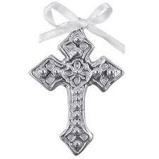 mariposa brillante cross ornament silver superstore