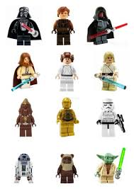 wars edible image 12 stand up premium wafer paper lego wars edible cupcake
