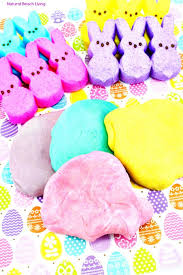 easter marshmallow candy the best marshmallow peeps play dough recipe living