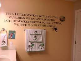 bathroom monkey bathroom decor ideas design and image of boys