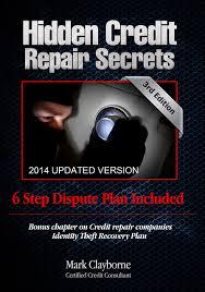 dispute credit report letter template hidden credit repair secrets step by step 6 letter dispute plan hidden credit repair secrets step by step 6 letter dispute plan included