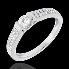 18 carat diamond ring engagement ring destiny arch diamond 0 31 carat white gold