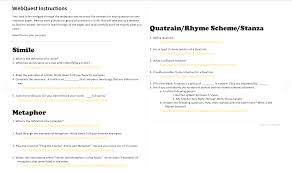 Rhyme Scheme Worksheet Engaging Students On Emaze