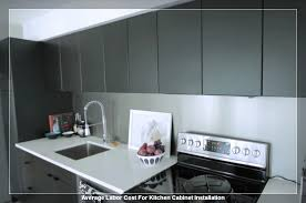 how much does it cost to install kitchen cabinets labor cost to install kitchen cabinets extraordinary how much does