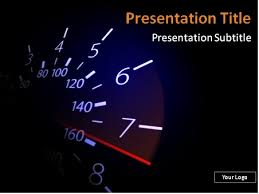 powerpoint themes free cars download free speedometer with red needle powerpoint template