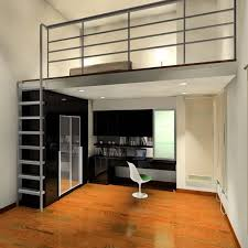 I Like The Idea Of A Mezzanine Floor Plan Could Help Separate - Bedroom mezzanine
