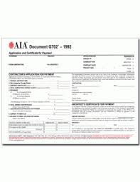 Aia G702 Excel Template Aia Form G702 Business Form Templates