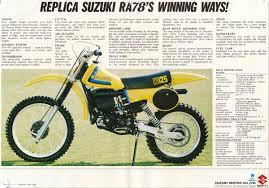 1979 suzuki rm125n ad vintage dirt pinterest motocross