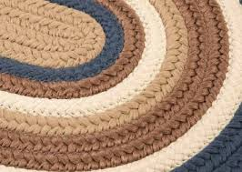 Braided Throw Rugs Braided Area Rugs Oval Roselawnlutheran