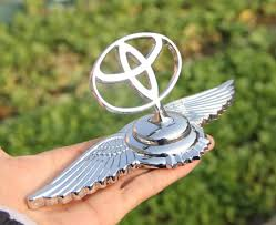 fit for toyota 3d eagle stand car chrome logo ornaments