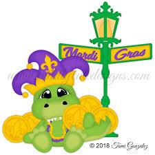 mardi gras alligator celebrations
