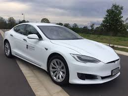 electric vehicles tesla uq u0027s fleet goes electric sustainability university of queensland