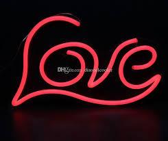 custom light up signs 2018 large 19 x12 illuminated love letters words handmade custom
