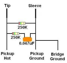 wiring diagram without pots talkbass com
