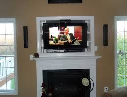 Tv Mount Over Fireplace by Wall Mount Tv Over Fireplace Ideas Home Design Ideas