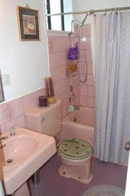 questions color to work in this pink bathroom apartment therapy