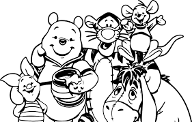new years coloring page love my big happy family mother duck and