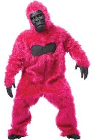 brand new gorilla king kong men suit halloween costume ebay