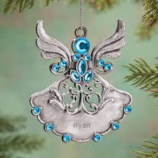 personalized birthstone pewter ornament kimball