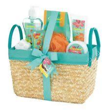 Bath Gift Basket Coconut Lime Tropical Spa Basket Set 10017910 Ebay